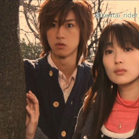 Ryunosuke and Mako - Super Sentai Couples